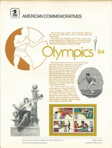Official 1984 Olympics 13c USPS Commemorative Panel (CP193) - $4.30