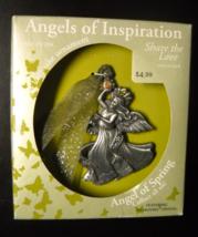Gloria Duchin Christmas Ornament Angels Of Inspiration Pewter Swarovski Crystal - $8.99