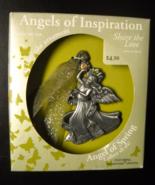 Gloria Duchin Christmas Ornament Angels Of Inspiration Pewter Swarovski ... - $8.99
