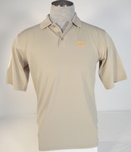 Under Armour Moisture Wicking Tan Short Sleeve Polo Shirt Men's NWT - $48.74