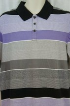 Alfani Regular Fit Mens Casual Shirt Sz M Lush Lilac Cotton Short Sleeve... - $19.71