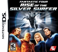 Fantastic Four: Rise of the Silver Surfer [Nintendo DS] - $4.94