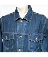 VTG Tommy Hilfiger Denim Jacket Jean 90s Coat Trucker Spell Out Outdoors... - $48.90