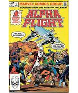Alpha Flight Comic Book #1 Marvel Comics 1983 VERY HIGH GRADE NEW UNREAD - $36.66
