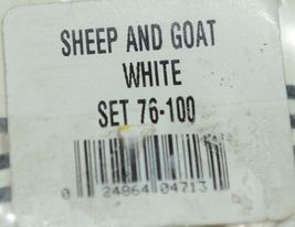 Fearing Duflex Ear Tags 2 Pc System Livestock ID Sheep Goat White Set 76 to 100 image 3