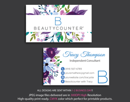 Personalized Beautycounter Business Cards, Beautycounter Business Cards,... - $9.00