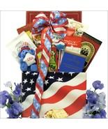 American Pride: Patriotic Gourmet Gift Basket - $68.99