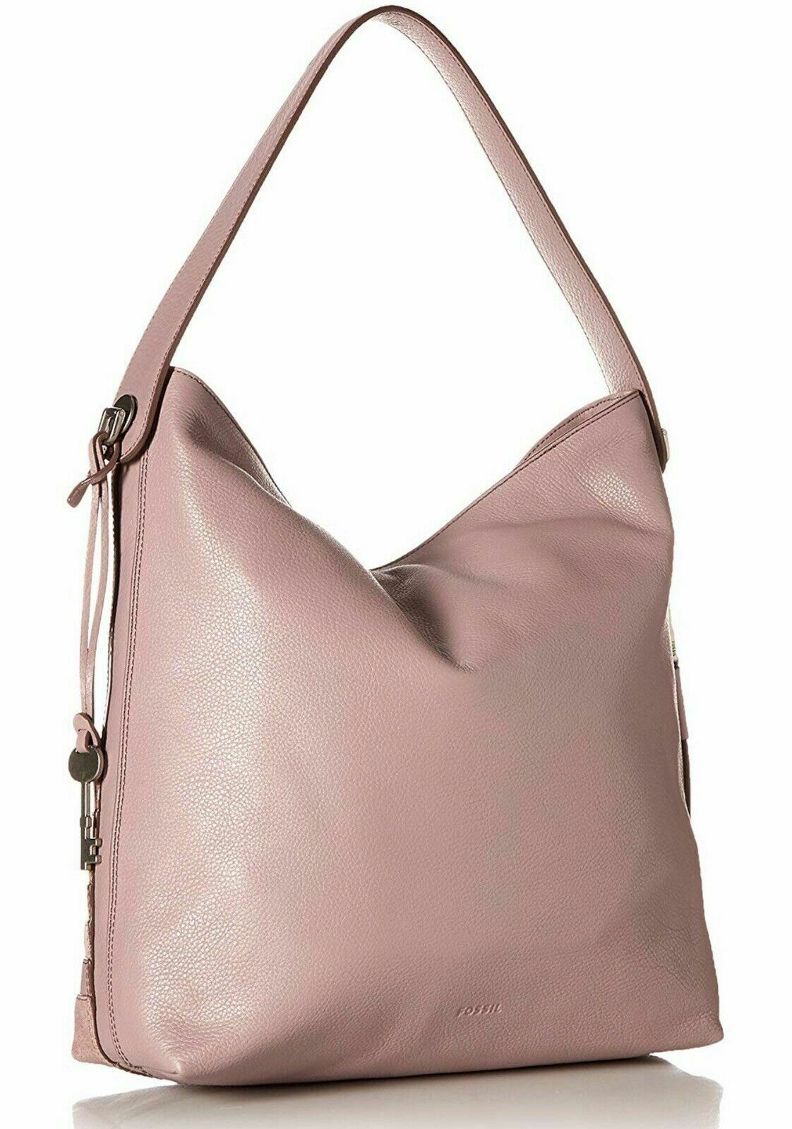 New Fossil Women's Maya Small Leather Hobo Bag Variety Colors image 5