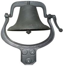 Yard Tuff Ytf-22Lb Large Cast Iron Farm Bell Metal Bells Decorative Coll... - $118.99