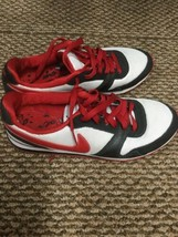 NIKE LOVE SIZE 8.5 RED WHITE AND BLACK 386199-160 VINTAGE - $24.74