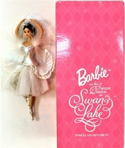 Barbie as the Swan Queen In Swan Lake Porcelain Ornament 1998 Avon - $19.79