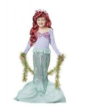 California Costumi Ariel Sirenetta Mare Bambino Cosplay Disney Costume 0... - £18.68 GBP