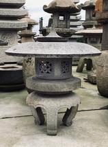 Maru Yukimi Gata Ishidōrō, Japanese Stone Lantern - YO01010189 - $2,812.73