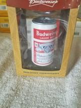 Holiday Ornament Budweiser can Christmas Kurt S. Adler - $29.58