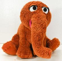 "SNUFFLEUPAGUS Sesame Street Muppets plush toy 26"" Hasbro BOO34 - $37.99"