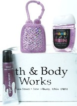 Bath and Body Works  SUGAR PLUM  Shimmer Lip Gloss, Pocketback &  Glitte... - $21.17