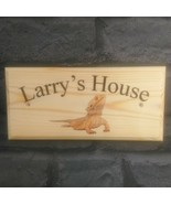 Personalised Bearded Dragon Sign, Enclosure House Name Lizard Home Gift ... - $12.35