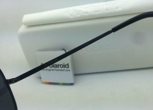 Polaroid Lunettes de Soleil Pld 1004/S 003 C3 61-15 Noir Aviateur Gris