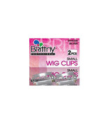 Brittny Wig Clips Hair Extension Accessories Holder Small 2pcs Silver #B... - $2.92