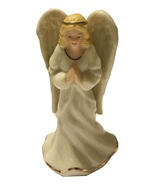 Lenox messenger of peace small angel porcelain figurine3 burned thumbtall