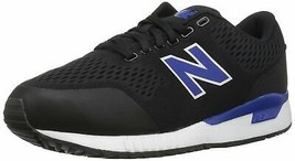 New Balance Men's 005v1 Sneaker 4 Black/Royal - $29.70