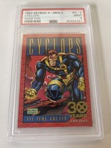 1993 Skybox X-men CYCLOPS Gold Foil PSA 9 Mint LOOK - $395.99