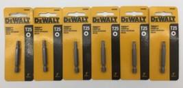"(New) DEWALT Torx Power Bit   T25 DW2665  2"" Length  Lot of 6 - $40.58"