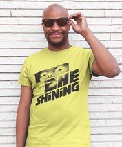 The Shining T-shirt retro 70's Stephen King horror movie 100% cotton yellow tee image 3
