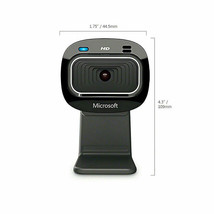 MICROSOFT LIFECAM HD-3000 FOR BUSINESS WEBCAM 720P HD 16:9 WIDESCREEN T4... - $155.26