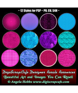12 Various Layer Styles 2 for Photoshop - $4.00