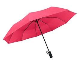 Rain-Mate Compact Travel Umbrella - Windproof, Reinforced Canopy, Ergono... - $18.19