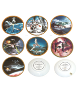 Star Wars Vehicles Collector Plate Hamilton Collection Sonia R Hillias  - $55.36