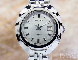 Ladies Seiko 17J 26mm Hand-Wind w/Date Dress Sports Watch, c.1960s SCX420 - $739.50