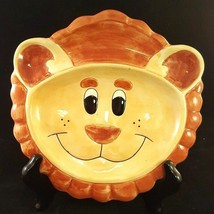 "Fitz and Floyd Child Lion Ceramic Serving Plate 7 3/4"" Wall Decor Nurser... - $9.49"