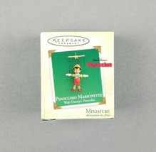Hallmark 2004 Keepsake Christmas Miniature Ornament Disney Pinocchio Mar... - $34.65
