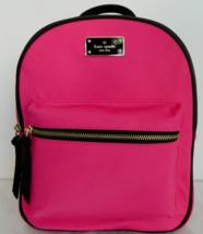 New Kate Spade small Bradley Wilson Road Nylon Backpack handbag Radish - $109.00