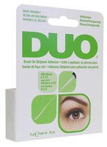 Ardell DUO Brush On Striplash Eyelash Adhesive Glue White/Clear 0.25 oz - $8.99