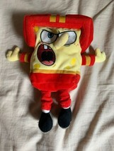 Ty Beanie Baby Plush Stuffed Football Spongebob Squarepants Nickelodeon GUC - $12.00