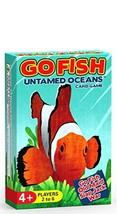 Arizona GameCo GO Fish Untamed Oceans - Go Fish, Old Maid, Slap Jack and... - $10.61