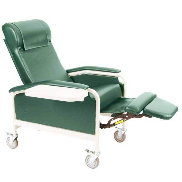 Winco CareCliner Nylon Caster Moss Green