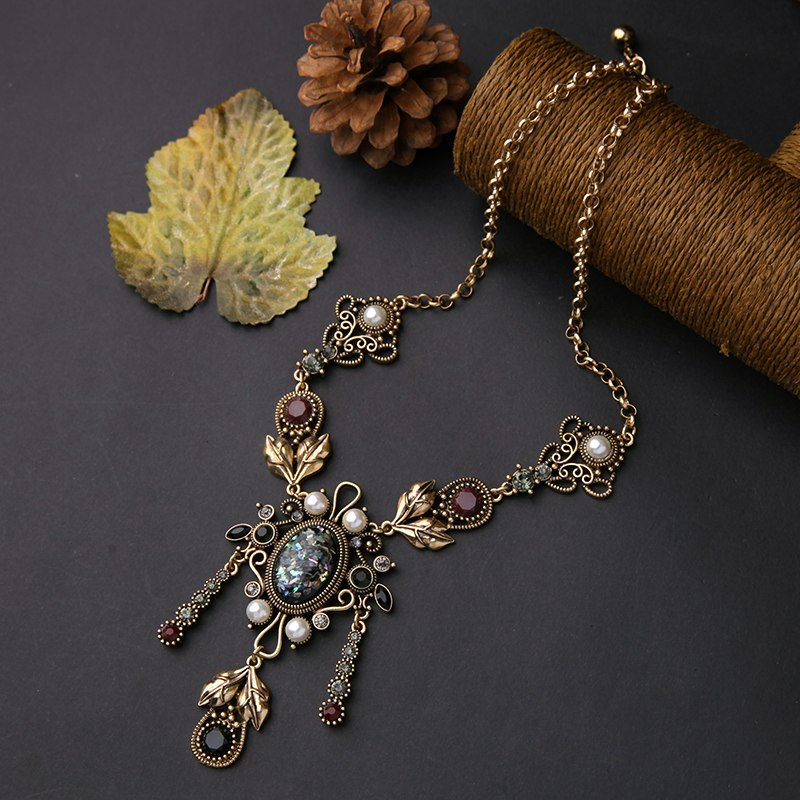 Alloy Geometric Vintage Necklaces & Pendants Halloween Metal jewelry From India