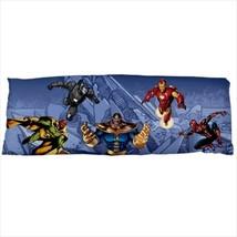 dakimakura body hugging pillow case cover avengers thanos spiderman supe... - $36.00