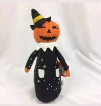 Hyde and EEK Target Halloween Canvas Figure doll pumpkin Jack o lantern  - $11.88