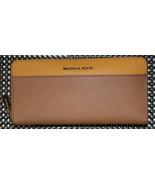 NWT Michael Kors MONEY PIECES Pocket Zip Around Continental Wallet - $119.99