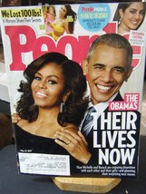 People Magazine - The Obamas Their Lives Now Cover - May 29, 2017 - $5.35
