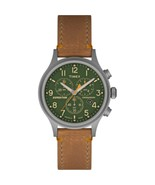 Timex Expedition Scout Chrono Watch - Tan/Green - $94.45