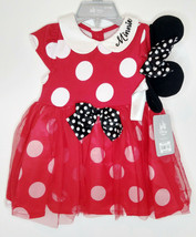 Disney Store Baby Minnie Mouse Dress & Headband - $14.95