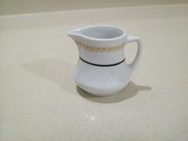 Vintage Mayer China Est. 1881 Creamer Seneca Pattern Heavy Restaurant Wa... - $17.00