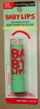Baby Lips MINT PLEASE No 205 Limited Edition Lip Balm Lip Gloss Maybelline - $6.50