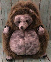 Unipak Hedgehog Plush Lifelike Stuffed Animal Plump Realistic Toy Wildlife - $9.89